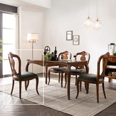 수입 엔틱가구 TR 13 프리미엄 엔틱 컬러 식탁 의자