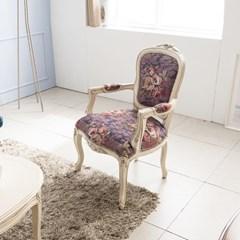 수입 엔틱가구 RG 22 1인 미색 소파 겸용 의자