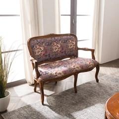 수입 엔틱가구 RG 13 2인 엔틱 컬러 소파 겸용 의자