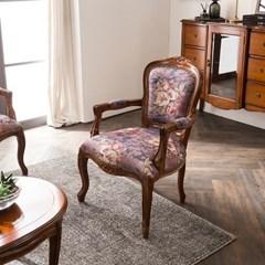 수입 엔틱가구 RG 13 1인 엔틱 컬러 소파 겸용 의자