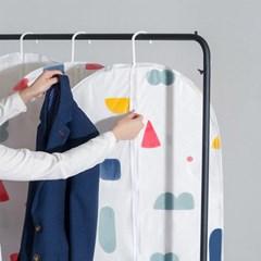 옷걸이 커버 장롱정리 패딩 코트 보관 겨울옷정리 의류보관
