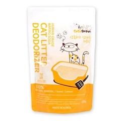 고양이 모래 탈취제 코코브라운 레몬향 500g_(764552)
