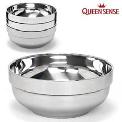 퀸센스 스텐 냉면기 20cm 2P세트 그릇 삼계탕 라면기 칼_(618251)