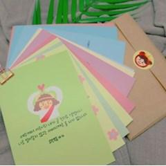 [샬롬이비] 기부하는 오주님이렇게예쁠수 엽서 세트