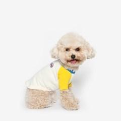 강아지 나그랑티 봄옷 (옐로우)