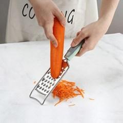 손잡이형 파스텔 치즈강판 b형 1개(색상랜덤)