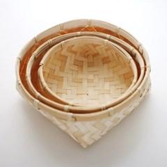 대나무 바스켓 3p세트