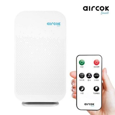 에어콕 20평형 저소음 리모콘 공기청정기 RAP20-18A