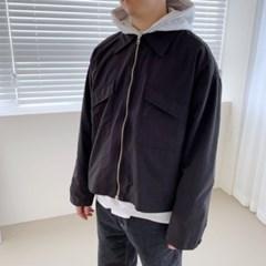 봄 남성 루즈핏 카라 아웃포켓 집업 바람막이 자켓점퍼
