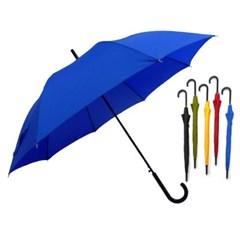 송월우산 SW60 곡자 컬러무지 장우산