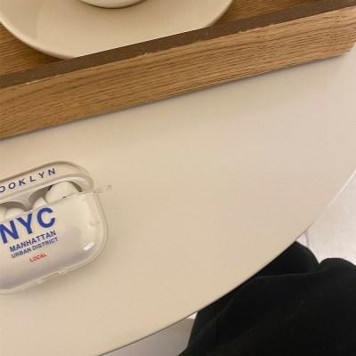NYC 에어팟 젤리케이스