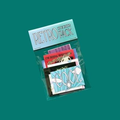 Retro Sticker Pack