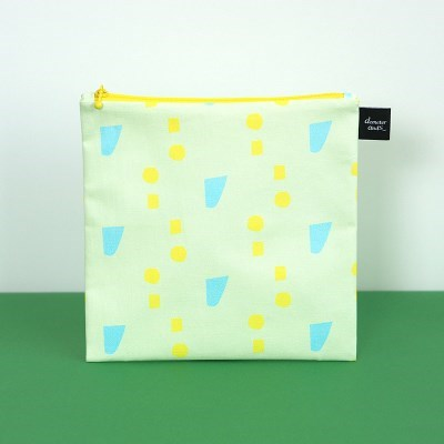 [L pouch] spring green