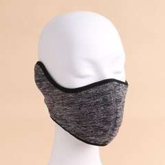 플리스 귀마개 방한 마스크(그레이)