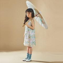 퍼키 샤이닝 스팽글 원피스 여아 아동 키즈 셔링 드레스