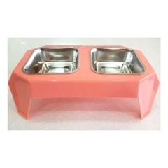 테이블 식기 핑크