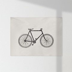 인테리어 패브릭 포스터_자전거
