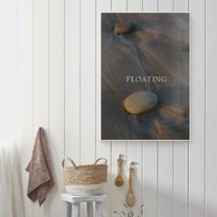 바다 풍경 그림 일러스트 인테리어 포스터 액자_Floating