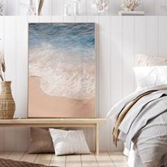 바다 풍경 그림 일러스트 인테리어 포스터 액자_밀물