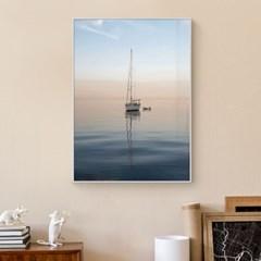 바다 풍경 그림 일러스트 인테리어 포스터 액자_Horizon Sunset