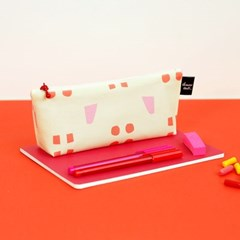 [pencil case] spring pink