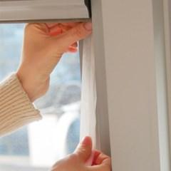 창문 현관 바람막이 문틈 외풍 차단 5겹 방풍 테이프