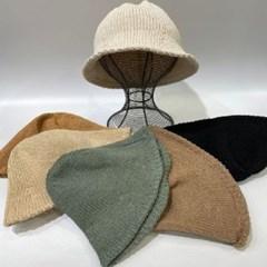 둥근 지사 꾸안꾸 데일리 패션 버킷햇 벙거지 모자