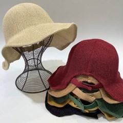 벨크로 물결 챙넓은 꾸안꾸 버킷햇 벙거지 모자