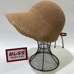 지사 뒷리본 챙넓은 데일리 패션 버킷햇 벙거지 모자