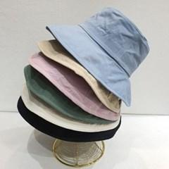 무지 기본 심플 꾸안꾸 챙넓은 버킷햇 벙거지 모자