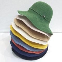 물결 챙넓은 꾸안꾸 데일리 버킷햇 벙거지 모자