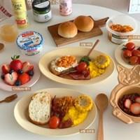 빈티지 프렌치 볼&플레이트(그릇&접시.파스타.디저트.브런치)