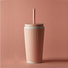 카페테리아 스타일리쉬 텀블러 핑크 1개
