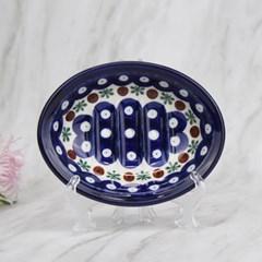 폴란드그릇 아티스티나 욕실용품 도자기 비누받침70