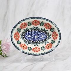 폴란드그릇 아티스티나 욕실용품 도자기 비누받침1215