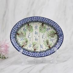폴란드그릇 아티스티나 욕실용품 도자기 비누받침1744