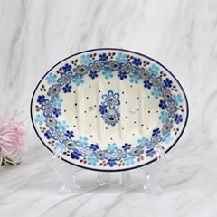 폴란드그릇 아티스티나 욕실용품 도자기 비누받침2075