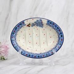 폴란드그릇 아티스티나 욕실용품 도자기 비누받침2285