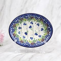 폴란드그릇 아티스티나 욕실용품 도자기 비누받침2509