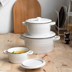 온나 오븐용 그라탕 그릇 파스타그릇 카레용기(대형)