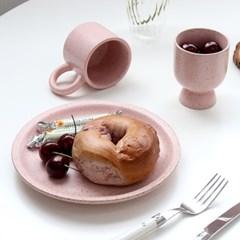 빈티지 점박이 예쁜 도자기 그릇
