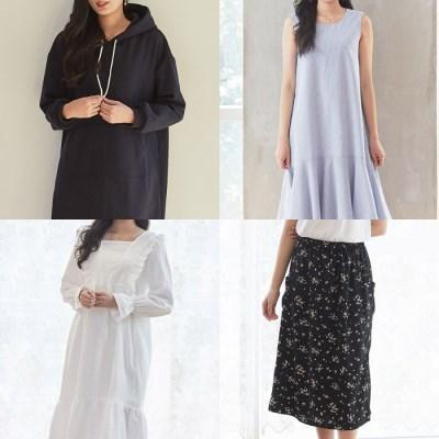 소잉데일리_패턴인] 여성 패턴 모음 원피스 후드티셔츠