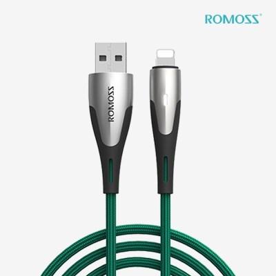 로모스 LED 라이트닝 8핀 아이폰 고속충전 케이블_(1466064)