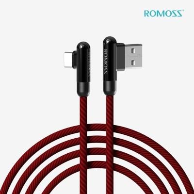 로모스 3A 90도 USB-C 타입 게이밍 고속충전 케이블_(1466060)