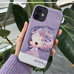 정품 ddung 뚱 마그네틱 도어 범퍼 (아이폰 기종)