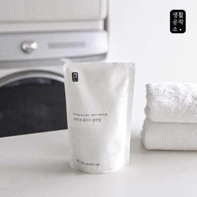 [생활공작소]세탁조 클리너 클린업 400g x 4입_(1186373)