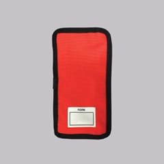 PENCIL POUCH (RED ORANGE)
