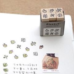 [PLAIN.TW] Piccolo minimo 스탬프세트