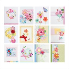 축하감사 꽃카드 FT75054 (12종)