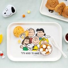 [Peanuts] 스누피와 친구들 사각접시